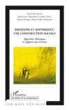 Émotions et sentiments ; une construction sociale ; approches théoriques et rapports aux terrains