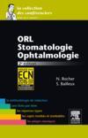 ORL ; stomatologie, ophtalmologie (2e édition)