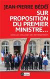 Sur proposition du Premier ministre ...