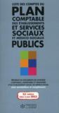Liste des comptes du plan comptable des établissements et services sociaux et médico-sociaux publics (11e édition)