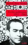 Écrits politique, 1957-1965