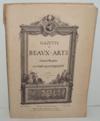 """""""Gazette des Beaux-Arts, 526e livraison, 1er avril 1901. Bien complet de l"""
