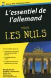L'essentiel de l'allemand pour les nuls