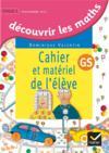 Decouvrir les mathematiques grande section ed. 2015 - cahier de l'eleve