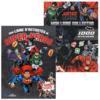 Lot Justice league, mon livre collector-1000 stickers/ Mon livre d'activité super héros-100 stickers