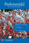 Parlement[S], Revue D'Histoire Politique ; Hors-Série T.10