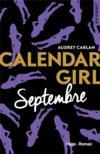 Calendar girl ; septembre