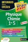Interros des lycées T.22 ; physique-chimie ; 1re S (édition 2015)
