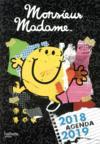 Les Monsieur Madame ; agenda (édition 2018/2019)