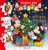 Puzzle des bébés ; Mickey fête Noël