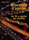 Bracelet d'amitie, en fil et perles de rocaille