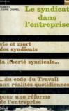 LE SYNDICAT DANS L'ENTREPRISE - Collection Société n°21