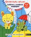 Coloriages malins ; lettres et nombres magiques ; moyenne section ; 4/5 ans (édition 2016)