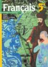 Français ; 5ème ; livre de l'élève (édition 2001)