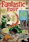 Sticker Repositionnable <b>les 4 Fantastiques Comics</b>