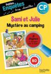 Sami et Julie, mystère au camping ; CP
