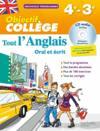Objectif College ; Tout L'Anglais ; 4e-3e