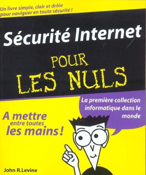 La sécurité informatique pour les nuls