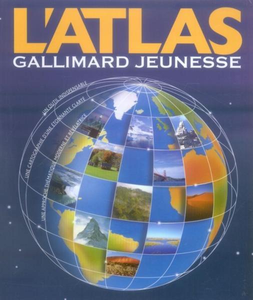 L Atlas Gallimard Jeunesse Collectif Jeunesse Livre