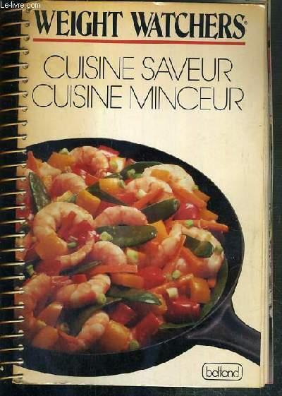 Cuisine Saveur Cuisine Minceur Weight Watchers Livre