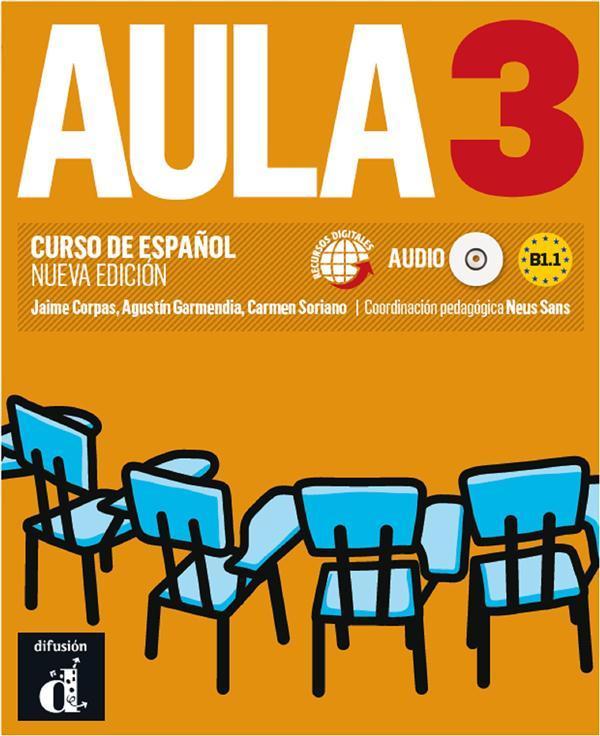 Aula Internacional Espagnol Livre De L Eleve 3e Edition