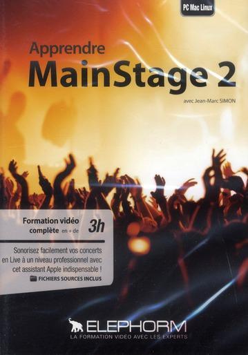 Apprendre MainStage 2 1 DVD - Jean-Marc Simon