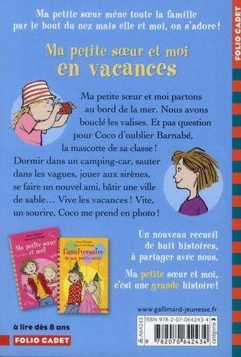 Ma Petite Soeur Et Moi En Vacances Jenny Valentine Livre