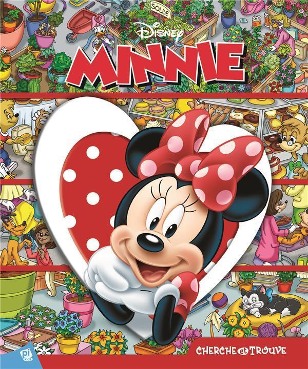 Cherche Et Trouve Minnie Disney Livre France Loisirs