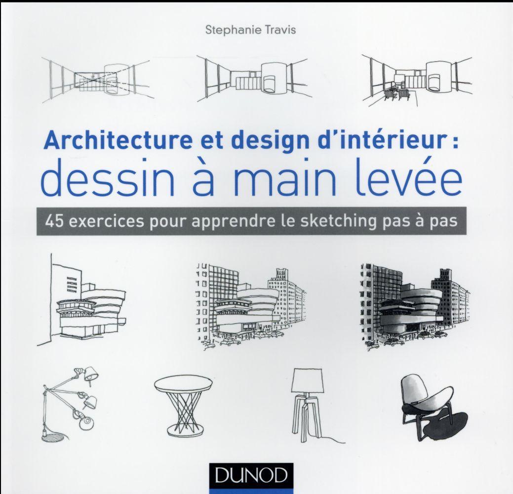 Livre Architecture D Intérieur architecture et design d'intérieur : dessin à main levée