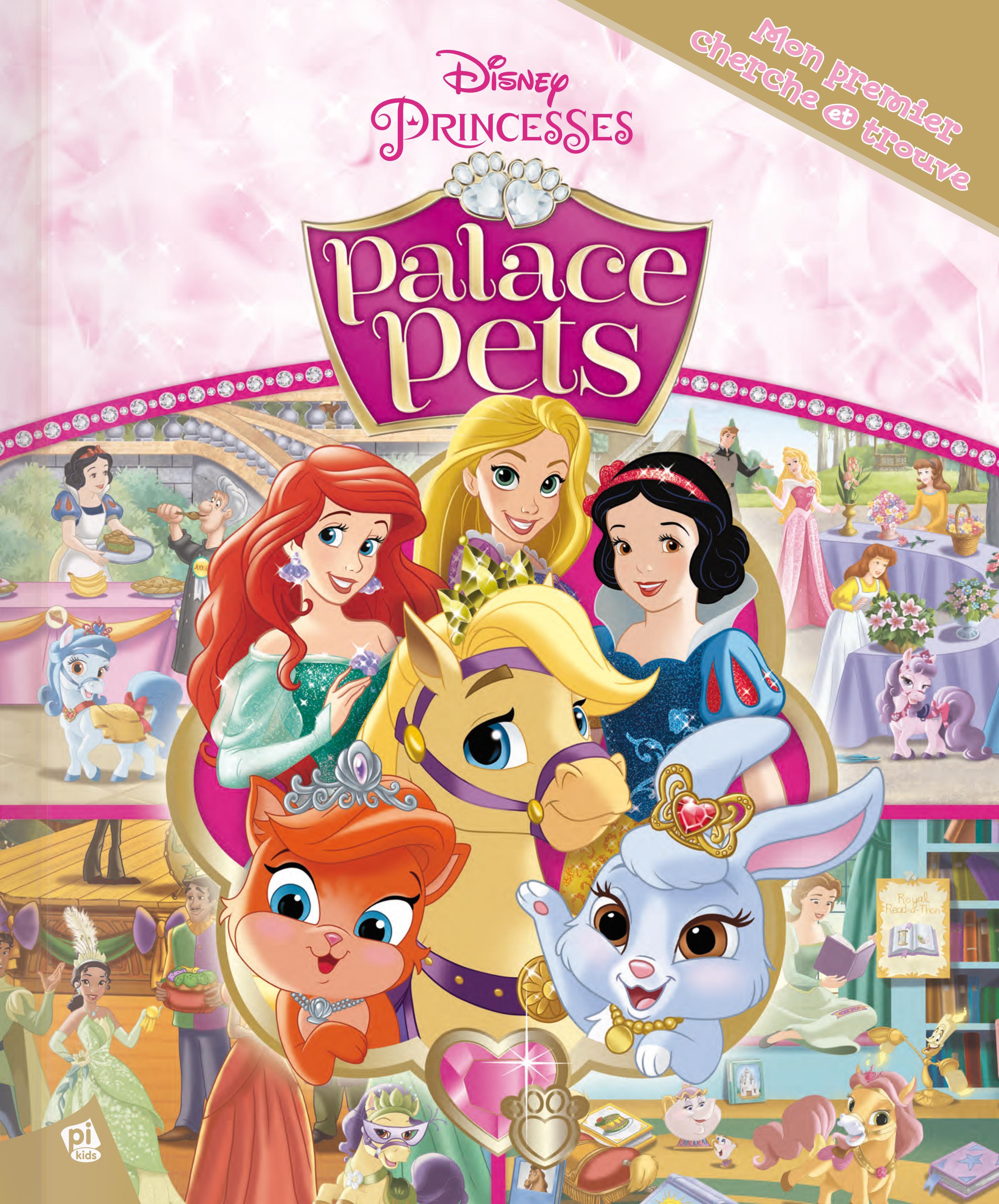 Mon Premier Cherche Et Trouve Disney Princesses Palace