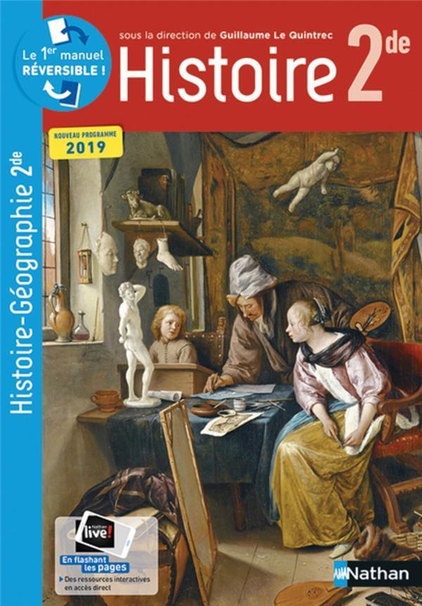 Histoire 2de Nouveau Programme 2019 Collectif Livre