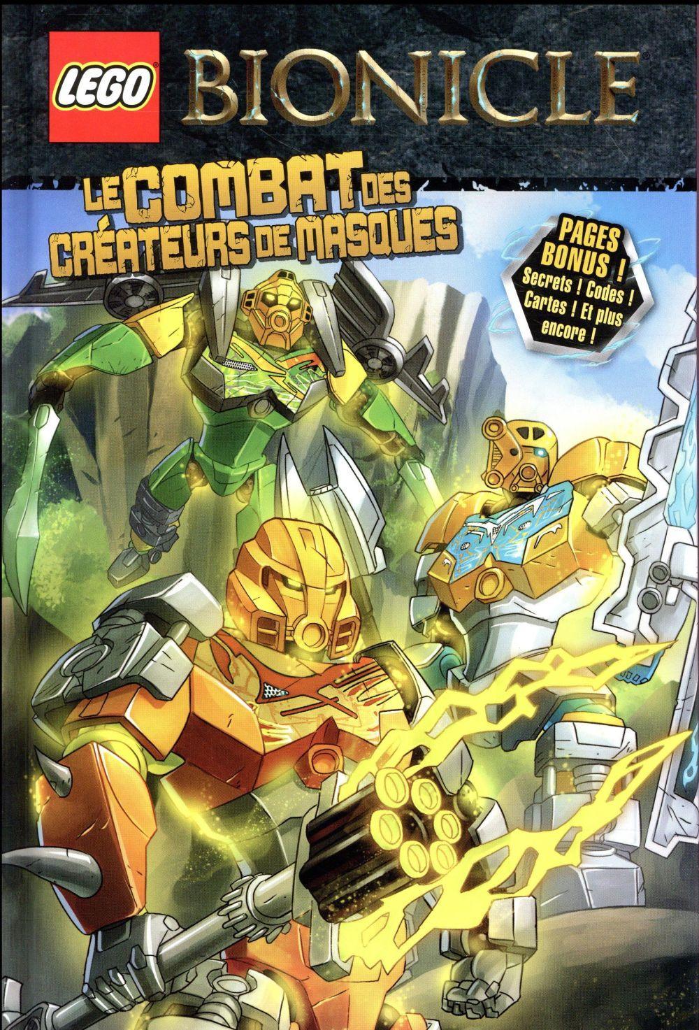 Vente grand choix de 2019 riche et magnifique Lego Bionicle ; le combat des créateurs de masques ...