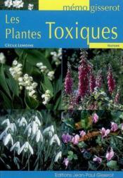 Les plantes toxiques - Couverture - Format classique