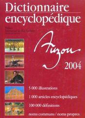 Dictionnaire Encyclopedique Auzou - Intérieur - Format classique