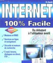 Internet, 100% facile - Couverture - Format classique