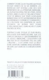 L'Education D'Un Malfrat - 4ème de couverture - Format classique