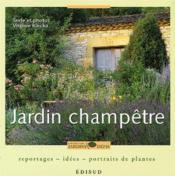 Jardin champetre - Couverture - Format classique