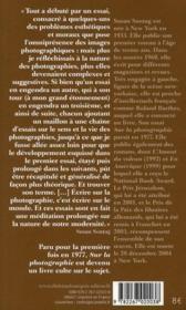 Sur la photographie - Couverture - Format classique