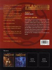 Flamingo t.2 ; genova blues - 4ème de couverture - Format classique