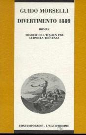 Divertimento 1889 - Couverture - Format classique