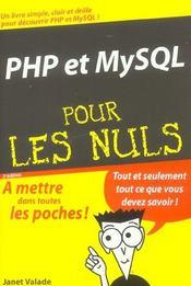 Php et mysql (2e édition) - Intérieur - Format classique