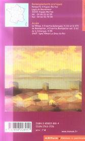 La Cite D'Aigues-Mortes - 4ème de couverture - Format classique