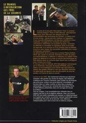 Le manuel d'intervention des pros de la sécurité - 4ème de couverture - Format classique