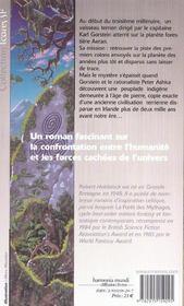 Earthwind - 4ème de couverture - Format classique
