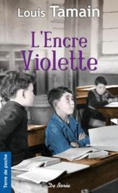 L'encre violette - Couverture - Format classique