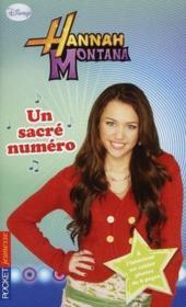 Hannah Montana t.17 ; un sacré numéro - Couverture - Format classique