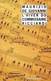 L'hiver du commissaire Ricciardi - Couverture - Format classique