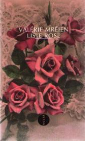 Liste rose - Couverture - Format classique