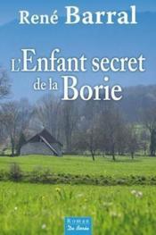 L'enfant secret de La Borie - Couverture - Format classique