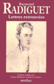 Lettres retrouvées - Couverture - Format classique